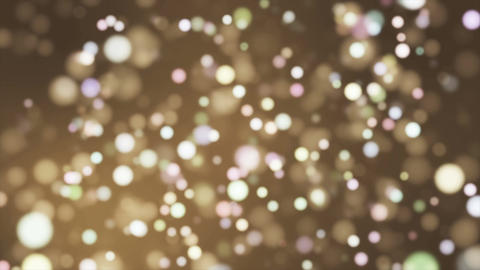 Broadcast Light Bokeh, Brown, Events, Loopable, 4K Animation