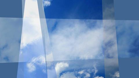 Fractal clouds Footage