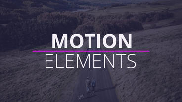 Modern Minimal Titles After Effects Template