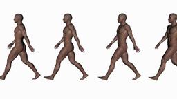 alpha channel,naked men go, animation Animation
