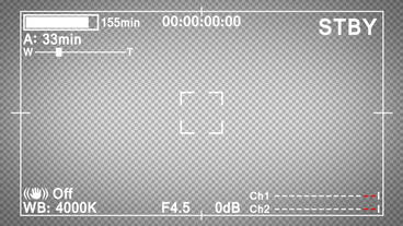 Video Camera Display After Effects Project