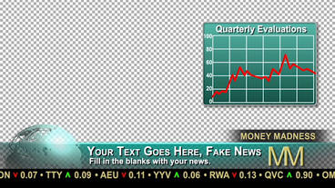 News Templates Money Madness After Effects Template