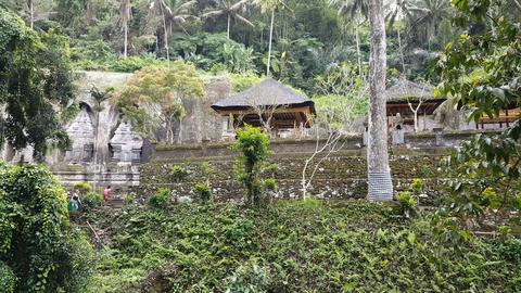 Gunung Kawi Temple in Ubud, Bali, Indonesia Archivo