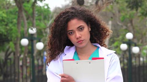 Female Nursing Student Live Action