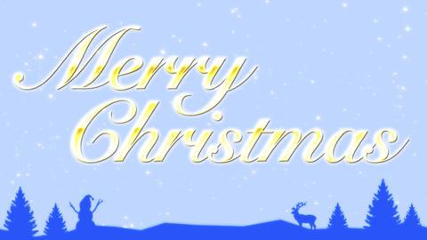 Merry Christmas 애니메이션