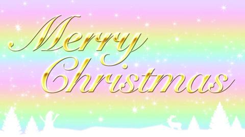 Merry Christmas 動画素材, ムービー映像素材