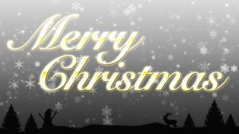 Merry Christmas CG動画