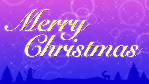 メリークリスマス CG動画