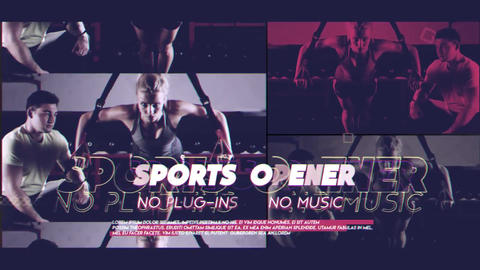 Sports Promo After Effects Template