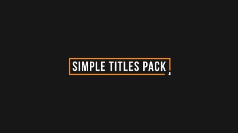 Minimal Titles 1 0