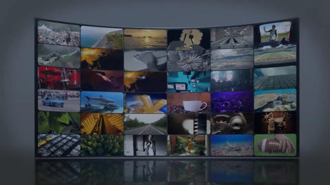 Video Wall Template After Effects Template