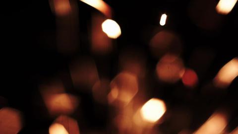 Christmas Sparkler. Sparks Bengal Fire Lights Footage