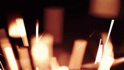 Christmas Sparkler. Sparks Bengal Fire Lights PACK! Footage