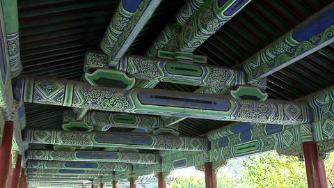 Roof of the Corridor in the Park of the Temple of Heaven Live Action