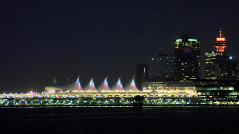 Canada Place in Vancouver Live Action
