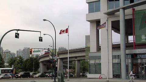 Sky Train, Vancouver Footage