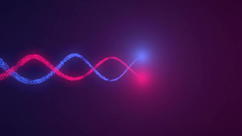Crossing red and blue light Animation