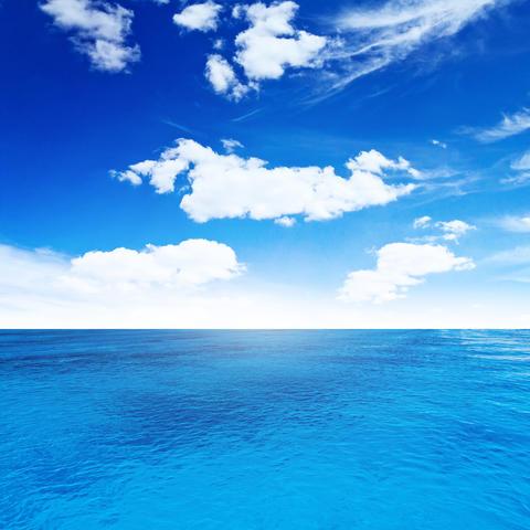 Sky and sea Foto