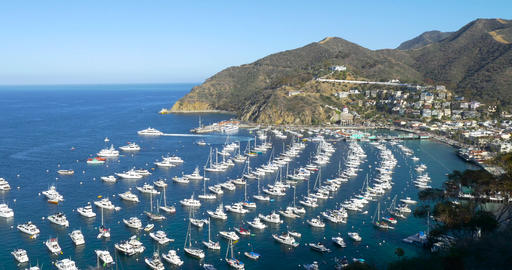 Bay and Town of Avalon on Catalina Island Archivo