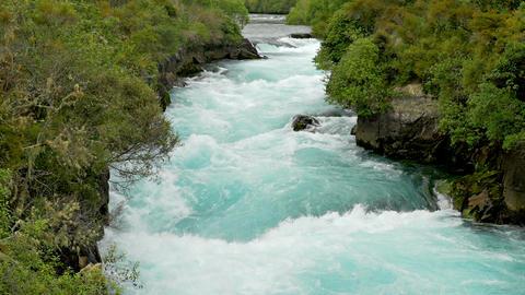 Huka Falls In New Zealand ビデオ
