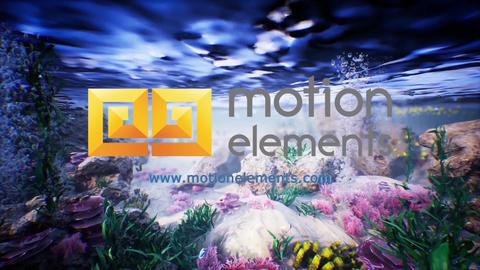 Underwater Logo Plantilla de After Effects