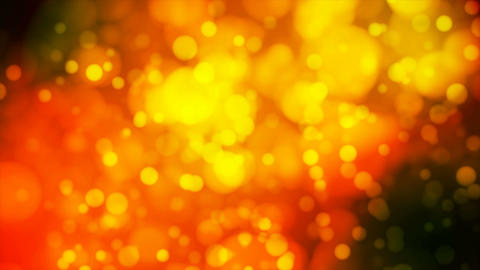Broadcast Light Bokeh, Orange, Events, Loopable, 4K Animation