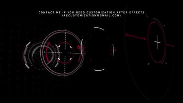 TRIGGER HUD PACK Plantilla de After Effects