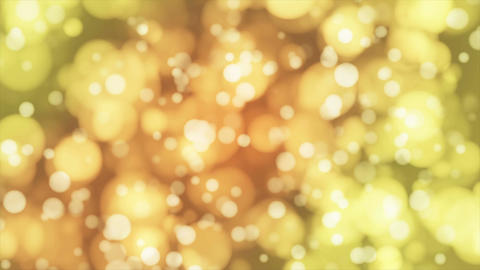 Broadcast Light Bokeh, Yellow, Events, Loopable, 4K Animation