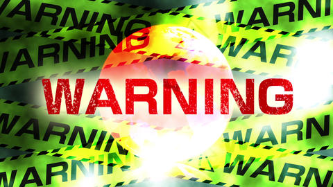 Warning message to the earth CG動画