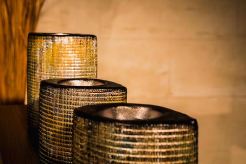 Metal cups Foto
