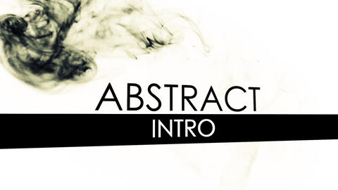 Abstract Intro After Effectsテンプレート