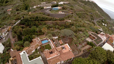Unforgettable vacation in Tenerife. Exotic plants and... Stock Video Footage