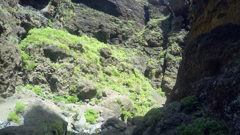 Scenic view of famous Masca. Tenerife Canary Islands, Spain GIF