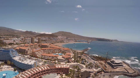 Beach in Tenerife island - Canary. Spain GIF