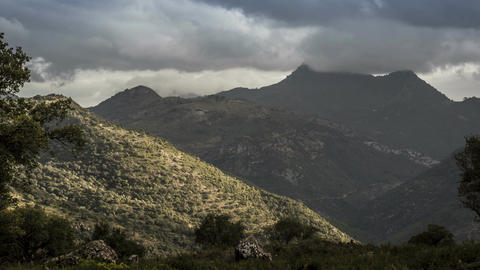 Time Lapse, Mountainous Andalusian Landscapes, Spain Footage