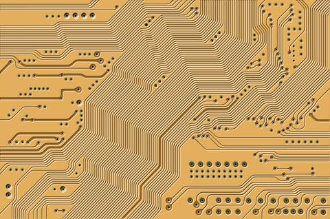 Printed circuit フォト