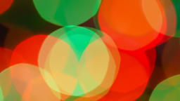 Flashing psychedelic strobes. Big, bright and moving blurred festive and Archivo