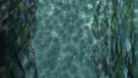 Underwater Bubbles Animation