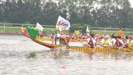 Dragon Boats Racing stock footage