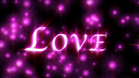 1039 Purple Love Lights Stock Video Footage