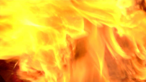 Cooking Fire Flames Close Up Stock Video Footage