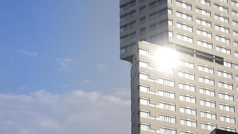 barcelona building00 Stock Video Footage