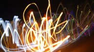 Crazy Fire Lights0 stock footage
