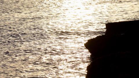 ibiza sunset01 Stock Video Footage
