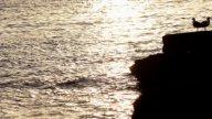 Ibiza Sunset01 stock footage