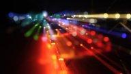 Kazantip Lights00 stock footage
