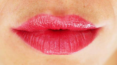 seanna lips2 Stock Video Footage