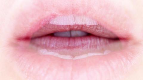 seanna lips8 Stock Video Footage