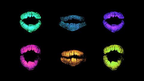 seanna lipstick03 Stock Video Footage