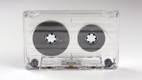 moving cassette04 Stock Video Footage